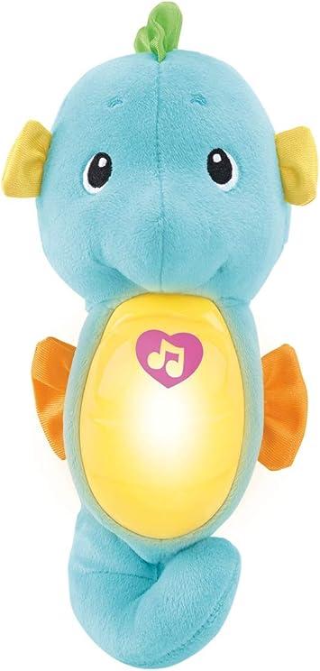 Oferta amazon: Fisher Price Caballito de mar dulces sueños azul, juguete de cuna bebé (Mattel DGH82) , color/modelo surtido