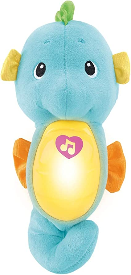 Blue Fisher-Price Soothe /& Glow Seahorse
