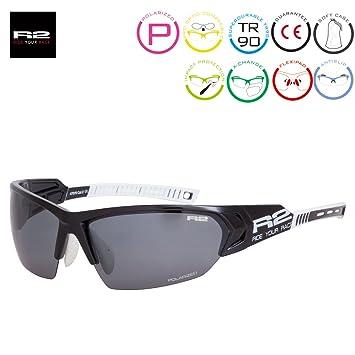 e4fa01d9ff2b R   R Enterprises R2 Universe RX Sport Sunglasses Black  Fingerprint-Resistant  Amazon.co.uk  Sports   Outdoors