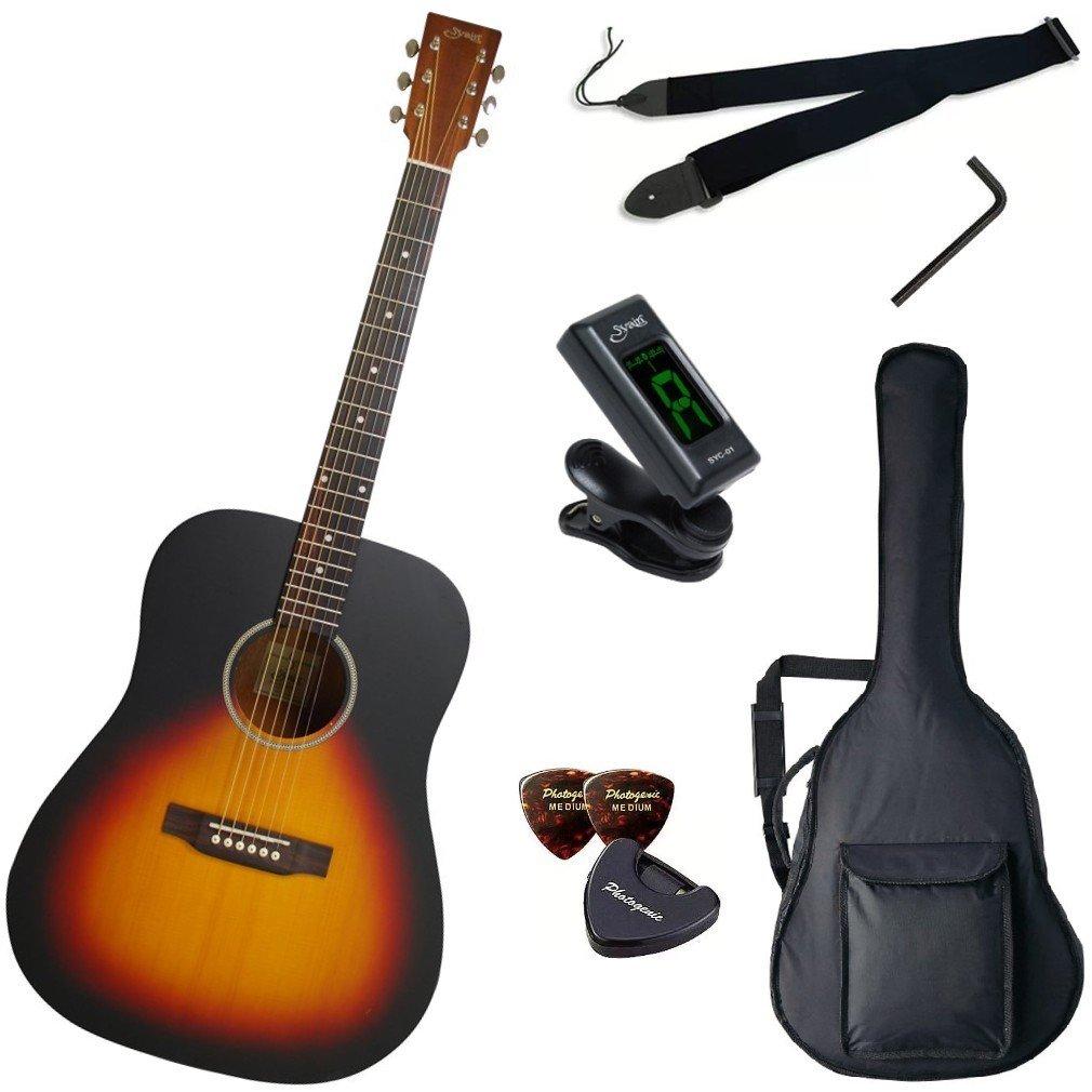 S.Yairi ヤイリ アコースティックギター Amazonオリジナル7点 クイックスタートセット YD-04/VS B0188ENCFY ヴィンテージサンバースト ヴィンテージサンバースト