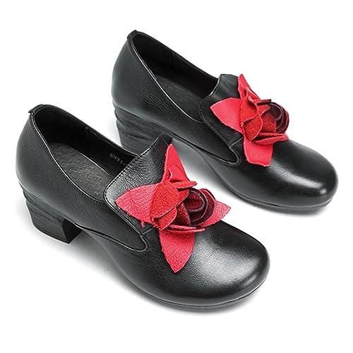 3cf510ad6541b4 Socofy Mocassini Donna di Pelle Scarpe Donna Scarpe da Balletto Loafers  Scarpe Casual Donna Primavera Estate