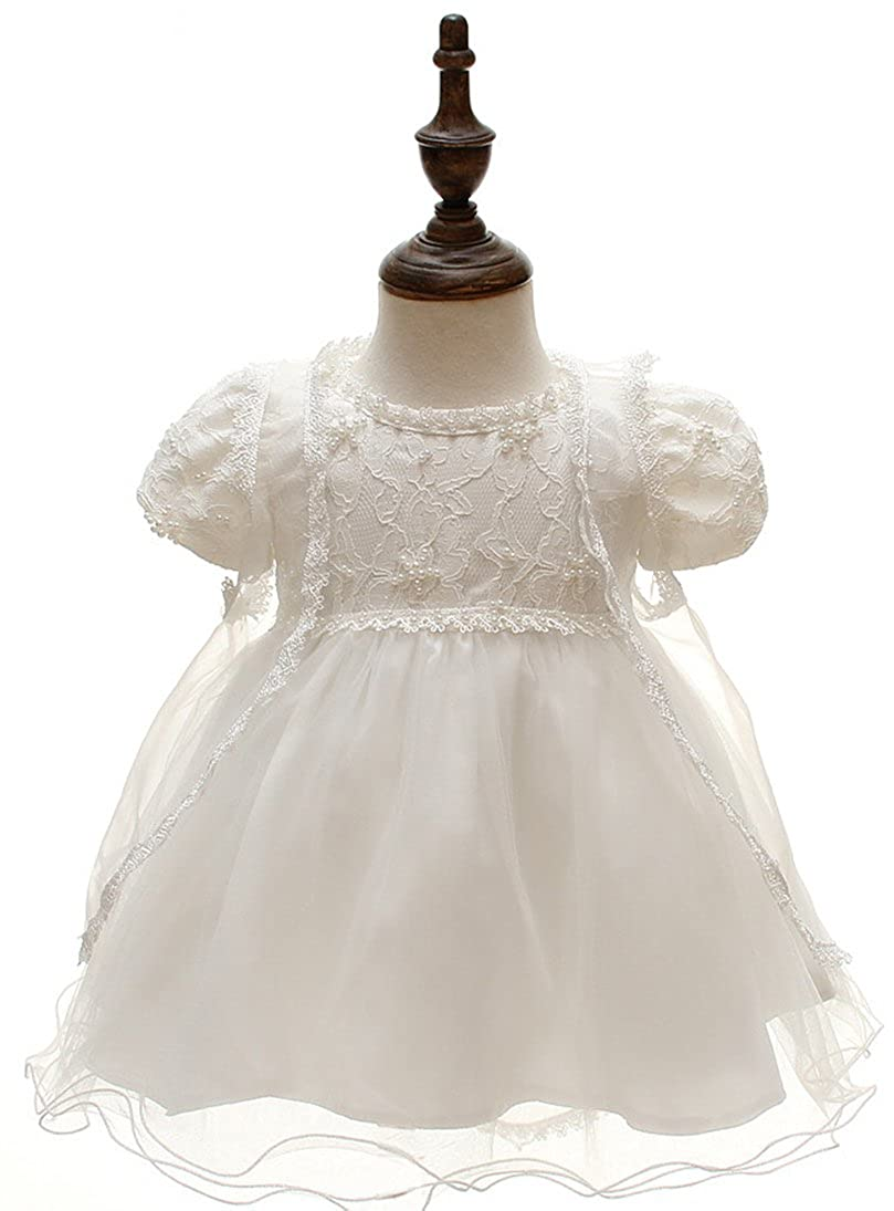 Snowskite Baby Girls 3PCS Dresses Pageant Bow Formal Birthday Dress JKFG1780-1
