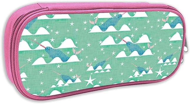 Estuche de lápices Infantil,Unicornio de mar Mint_4724, Rosa: Amazon.es: Juguetes y juegos