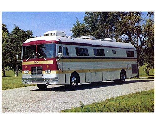 Coach Rv Motorhome (1976 Newell Coach Motorhome RV Factory Photo)