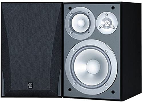 Yamaha NS-6490 3-Way Bookshelf Speakers Finish Pair Black
