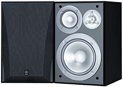Yamaha NS-6490 3-Way Bookshelf Speakers Finish (Pair) Black