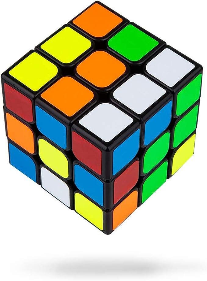 Buself Cubo Rompecabezas 3x3x3 56mm Cubo Rompecabezas Speedcube ...