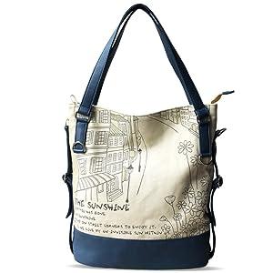 Casual canvas bag/Messenger bag/Art shoulder bag