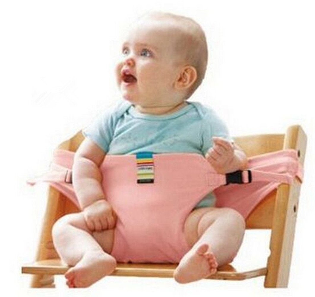 Baby/Infant Deluxe Security Chair Harness - Original Portable Travel Seat Belt(Random Color) TWOs
