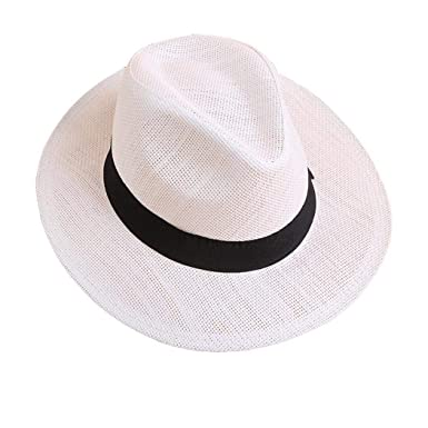 e53b8c2a0 Alisena Multicolor Women Fashion Wide Brim Straw Summer Beach Sun ...