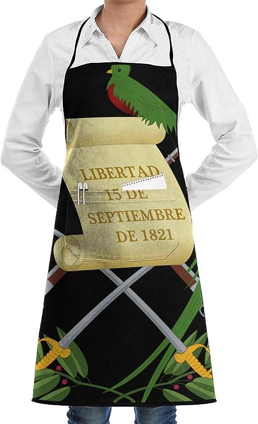 Escudo de armas de Guatemala a continuación.png Delantal de chef ...
