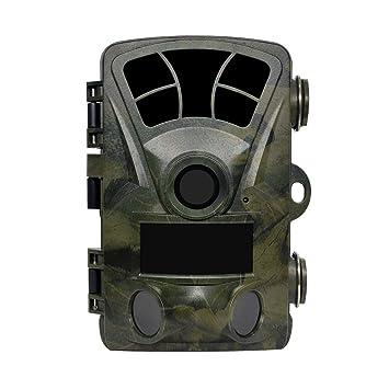 Sweet Alice Cámara de Caza 16MP 1080P, Wild Camera120 ° de visión panorámica infrarroja 20m
