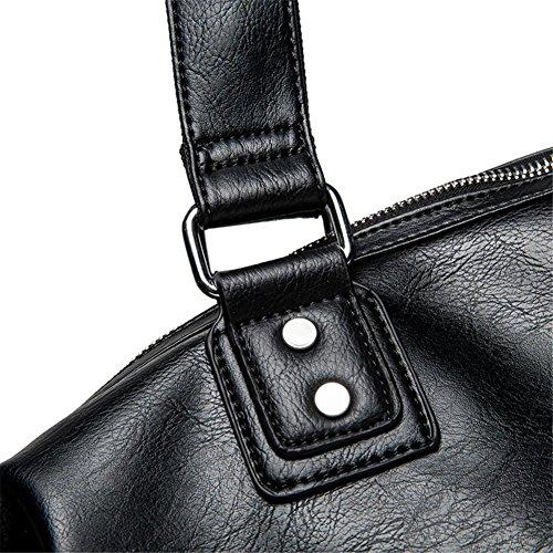 TT Bolso de mensajero de los hombres de moda bolso de viaje de gran capacidad casuales