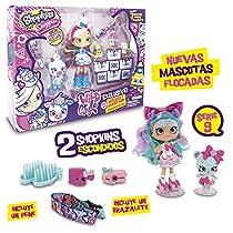 Shoppies Serie 9 - Wild Style Super Pack Con Muñeca, 1 Figura Shoppets y Shopkins + Accesorios