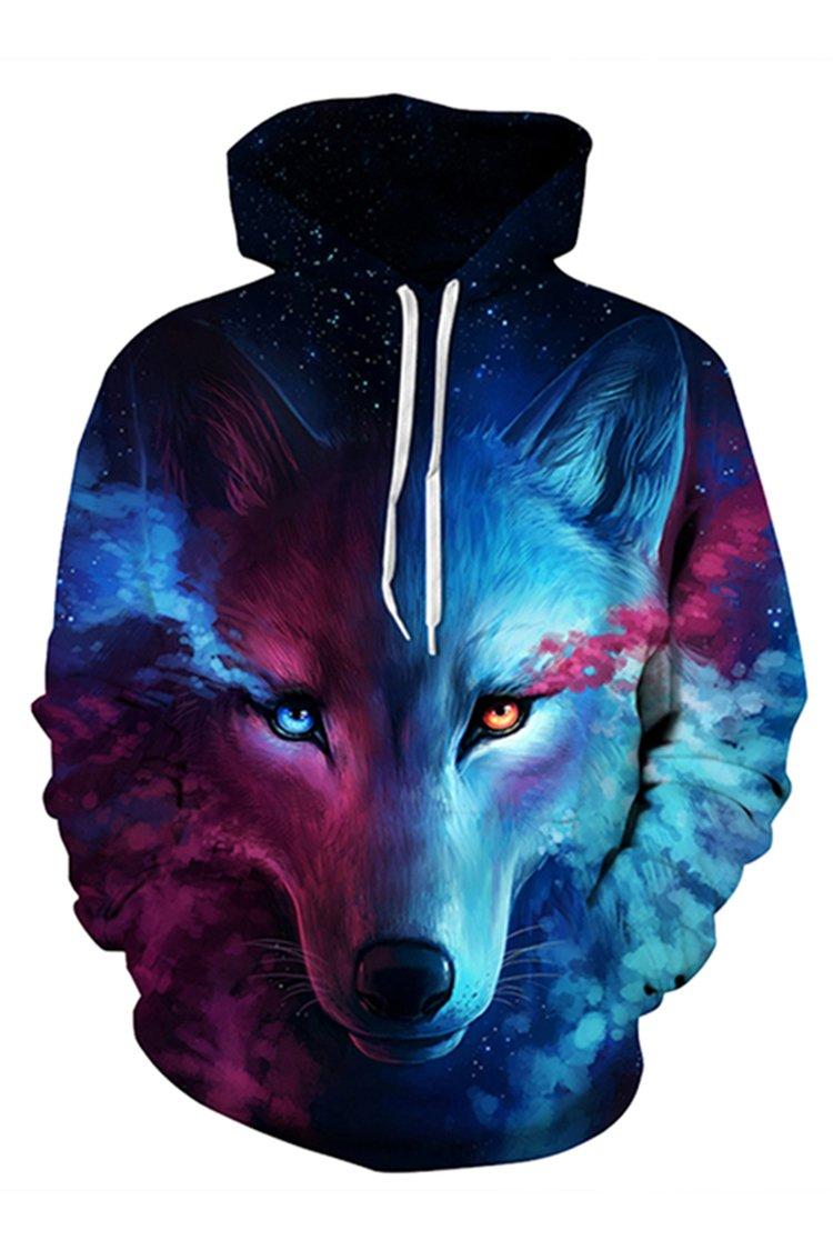 Lacostew SWEATER レディース B074PJMFVT 3L|Wolf Head Wolf Head 3L
