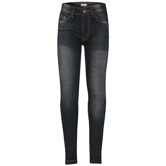 Amazon.com: Pantalones vaqueros ajustados para niñas de 5 a ...