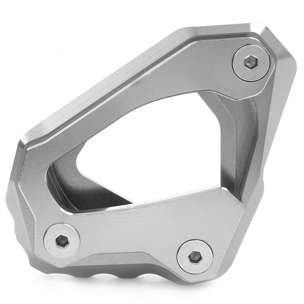 GZYF Side Kickstand Stand Extension Plate Pad For YAMAHA MT-10 FZ10 RN45 2016-2018