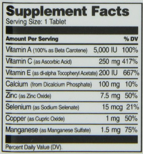 21st Century Ace Antioxidant Tablets 75 Count Discount