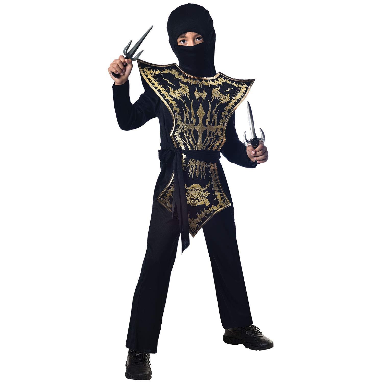 Amscan International- Ninja Assassin 8-10 Years Disfraz ...