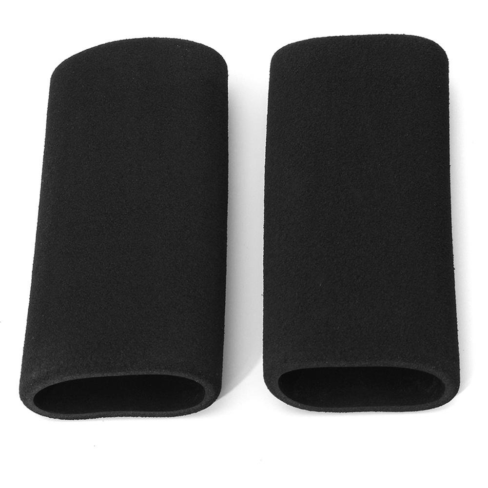 2x Motorbike Handlebar Grip Cover Motorcycle Slip-on Foam Anti Vibration Comfort Hand Grip Cover