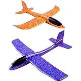 YeahiBaby Planos de Espuma | 2pcs Que lanzan los planeadores de Whirly Glider para los Cabritos, favores de la Fiesta…