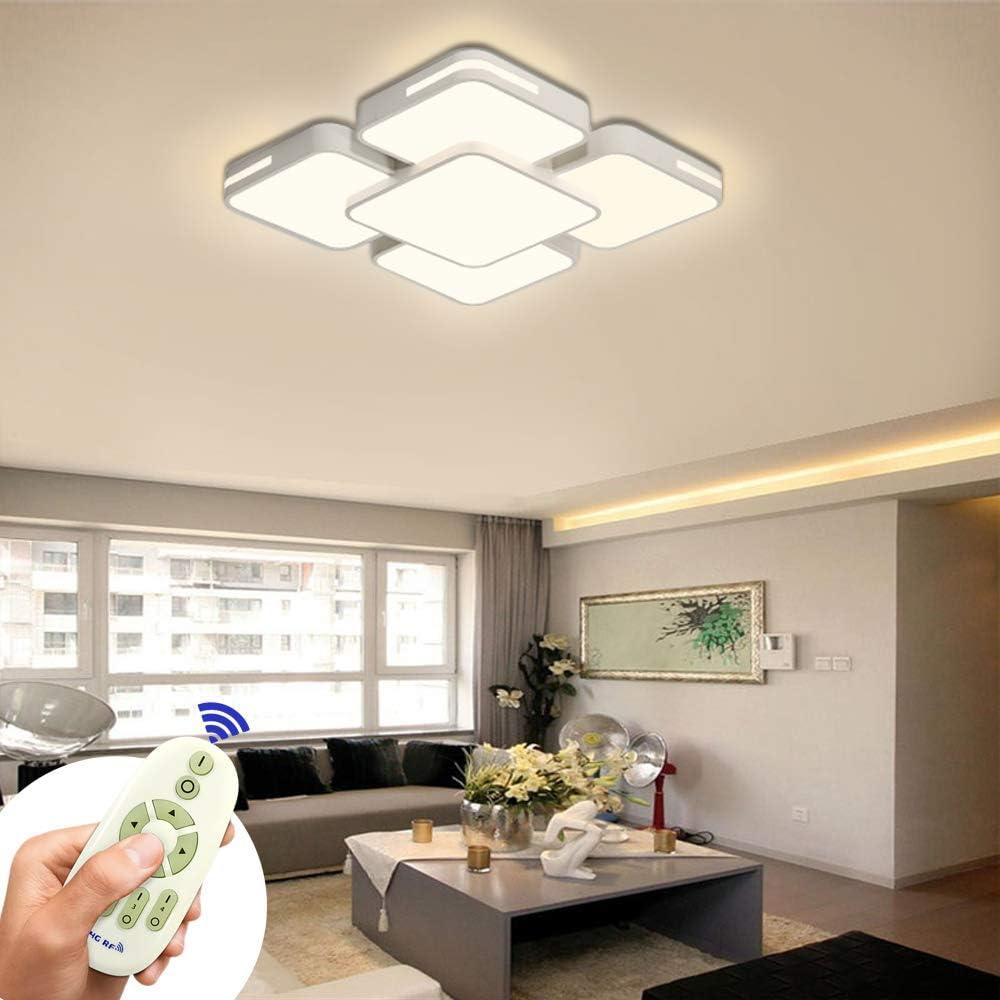 1X 64W LED ceiling light Panel Lighting Warm White bathroom kitchen living room