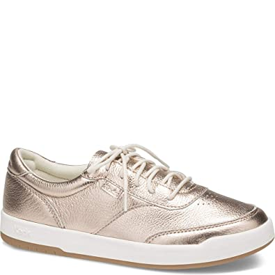 094bd0c39a6c Keds Match Point Metallic Leather Women 6 Rose Gold