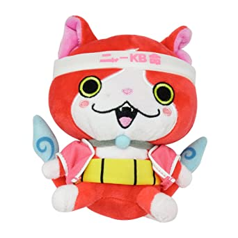 "Yokai Watch - 6"" Jibanyan Plush Toy"