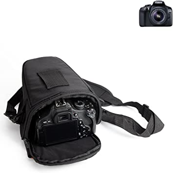 K-S-Trade para Canon EOS 1300D: Bolsa per Camera DSLR/SLR/DSLM ...