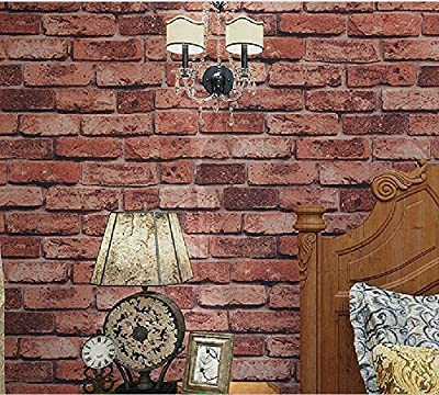 Blooming Wall 8066M Faux Vintage 3d Stone Texture Wallpaper,Wall Mural Wall Paper,57 Sq Ft/Roll
