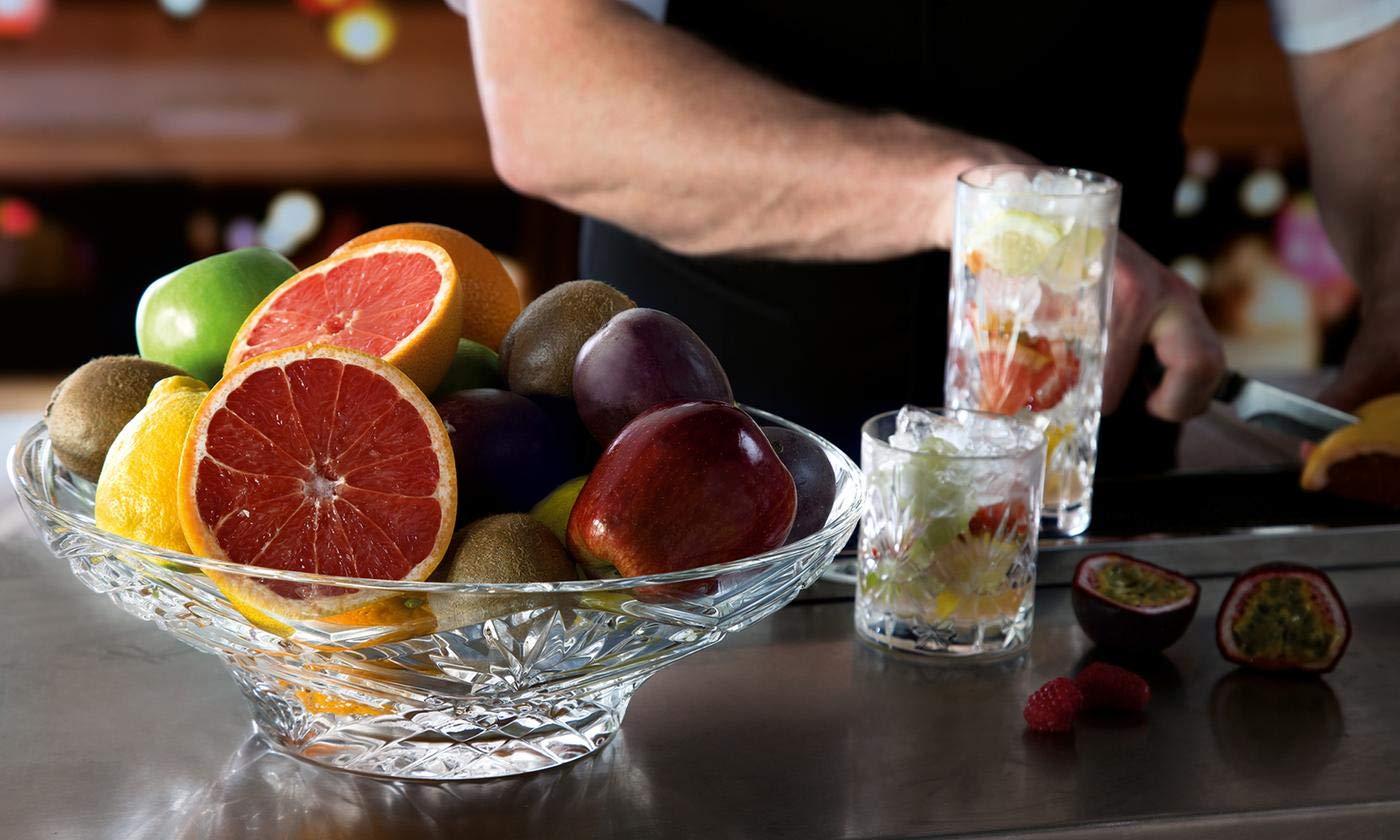 Elegant Crystal Sparkling Design, Serving Centerpiece For Home,Office,Wedding Decor, Fruit, Snack, Dessert, Server by Le'raze (Image #6)