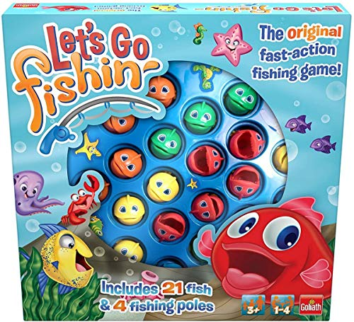 Goliath- Let s Go Fishing Original Juego de Pesca para ninos, Multicolor (30816)