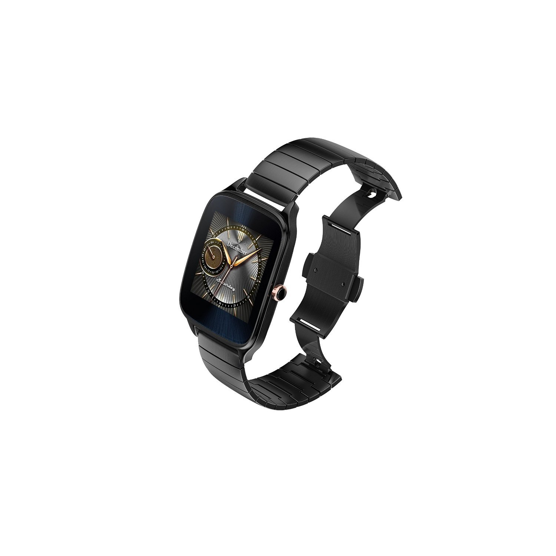 ASUS ZenWatch 2 Smartwatch 1.63'' Stainless Steel - Gunmetal/Gunmetal Metal Band (Certified Refurbished) by Asus (Image #4)