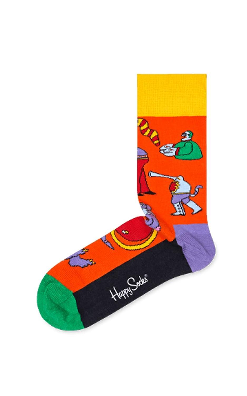Amazon.com: Happy Socks The Beatles Socks Box Set Blue,Green,Orange,Purple,Red,Yellow 41-46: Clothing