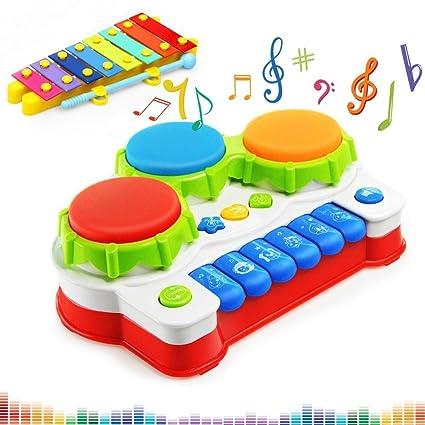 Amazon Com Baby Musical Toys Keyboard Piano Electronic Educational