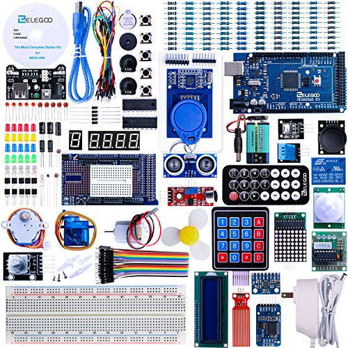Elegoo EL-KIT-008 Mega 2560 Project The Most Complete Ultimate Starter Kit w/ TUTORIAL for Arduino UNO Nano (Starter Yourself Remote)