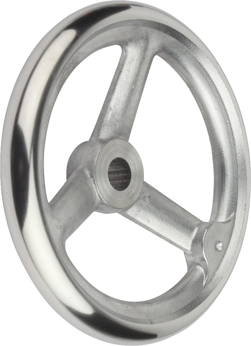 / Pack of 1/ K0160.1250x22 D1/ = 250/  Tilt Handwheel with Nut Aluminium Without Handle Complete: Aluminium D2/ = 22