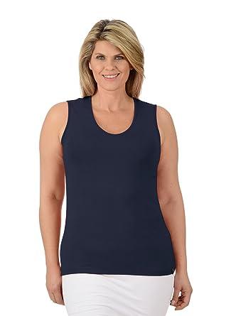 2a62568b0ba17b Trigema Damen Top Träger-Shirt  Amazon.de  Bekleidung