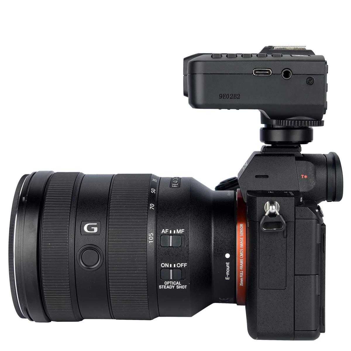 Godox X2T-S TTL Wireless Flash Trigger 1/8000s HSS TTL, Phone APP Adjustment, Compatible Sony (X2T-S) by Godox (Image #9)
