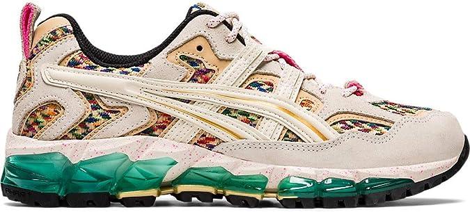 ASICS Gel-Nandi 360 Zapatillas de correr para mujer, Beige (Abedul/Oro puro), 35.5 EU: Amazon.es: Zapatos y complementos