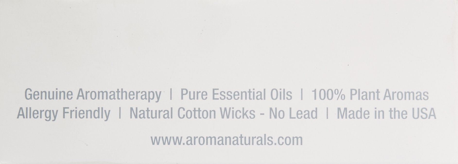 Aroma Naturals Ambiance Votive Candle, Yellow/Orange/Lemongrass, 6 Count by Aroma Naturals (Image #2)