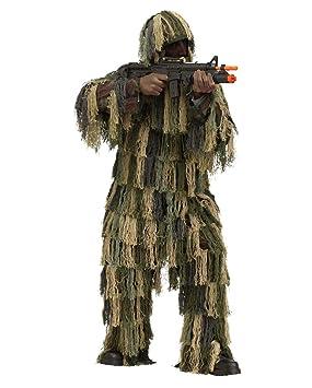 Horror-Shop Disfraz de Camuflaje de Francotirador One Size: Amazon ...