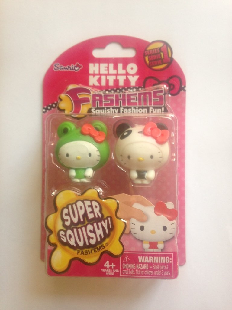 fash'ems hello kitty squishy fashion fun 2 personaggi TECH 4 KIDS
