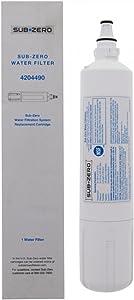 Subzero Water Filter Replacement 4204490 - Subzero Water Filter 4204490-4204490 Sub Zero Water Filter - 1 Pack