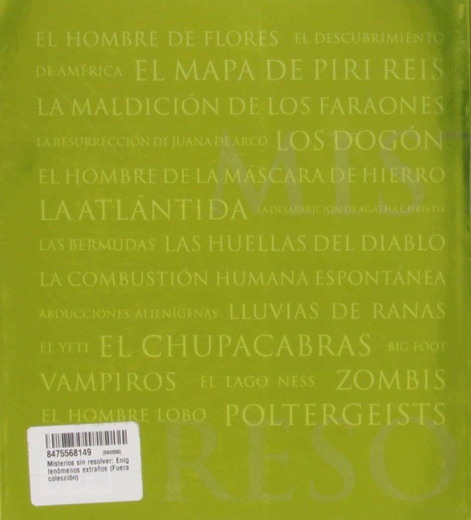 Misterios sin resolver: Colin/Wilson, Damon Wilson: 9788475568140: Amazon.com: Books