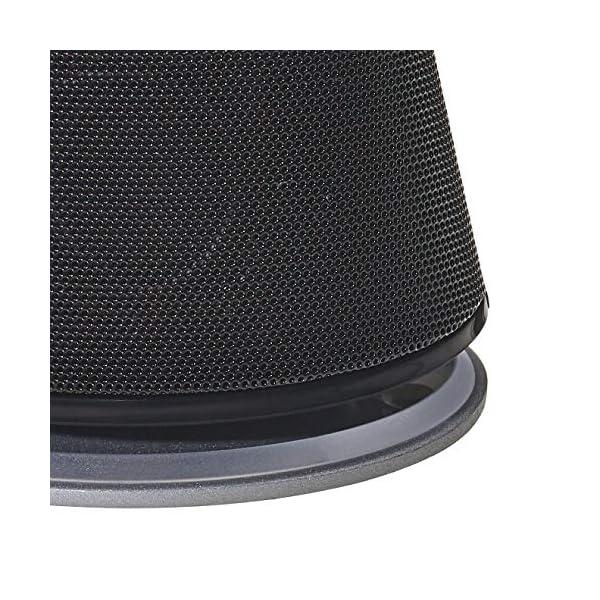 AmazonBasics Enceintes pour ordinateur alimentées par USB avec son dynamique | Noir, lot de 4 6