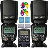 YONGNUO YN600EX-RT II Wireless Flash Speedlite + YN-E3-RT Flash Transmitter Remote Controller Flash Trigger For Canon Digital SLR Camreas