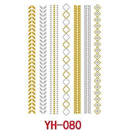 9 piezas pegatinas de tatuaje pequeñas pegatinas de tatuaje ...