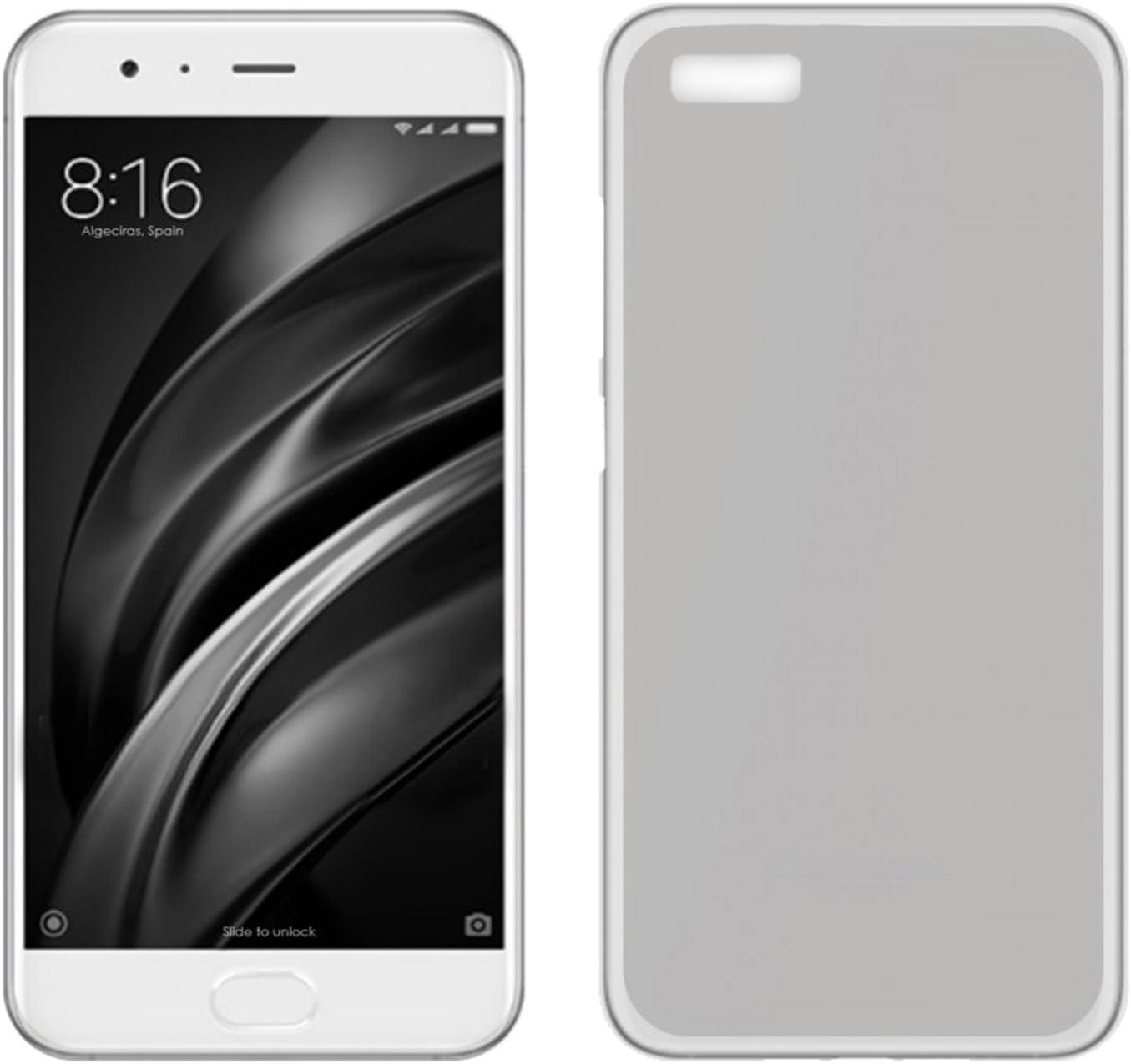 TBOC® Funda de Gel TPU Transparente para Xiaomi Mi 6 Plus - Mi6 Plus (5.7 Pulgadas) de Silicona Ultrafina y Flexible