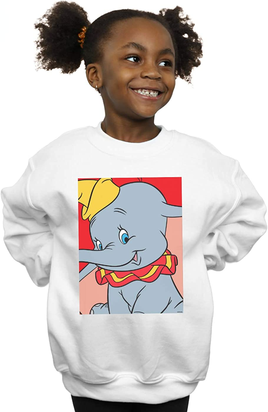 Disney Girls Dumbo Portrait Sweatshirt